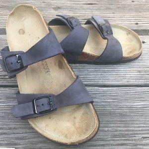 Birkenstock Arizona Womens Sandals sz 39 Blue